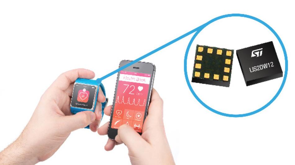 Der LIS2DW12 von STMicroelectronics wurde für Smartphones und Wearables entworfen.