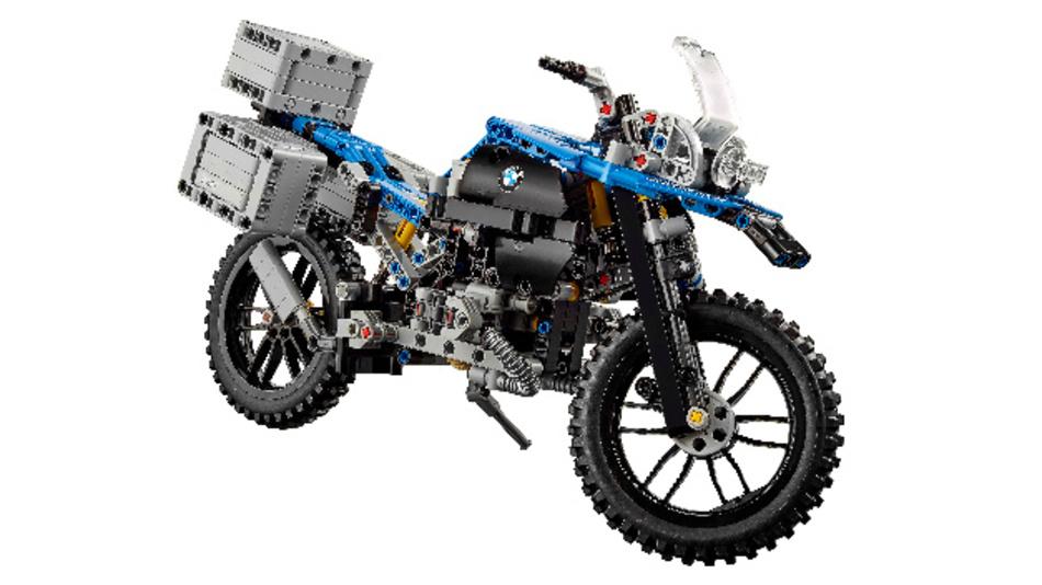 Ein Bauspaß für echte Fans: Das BMW Motorrad R 1200 GS Adventure als Lego-Technic-Bauset.