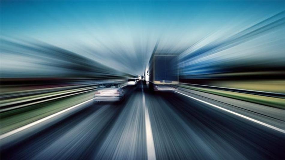 Bosch, Vodafone und Huawei testen LTE-V2X auf der A9 bei Allershausen.