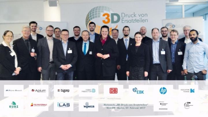 Teilnehmer des 1. Gesamtnetzwerktreffens am 07.02.2017 in Berlin