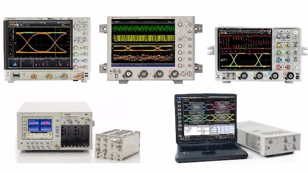 Sampling- und Echtzeit-Oszilloskope von Keysight Technologies