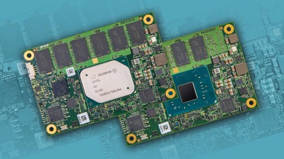 MSC bietet die neuen COM-Express-Mini-Module in fünf Prozessorvarianten an.