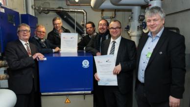 Auszeichnung für das »BHKW des Jahres 2016« im Konstanzer Drechslerweg verliehen