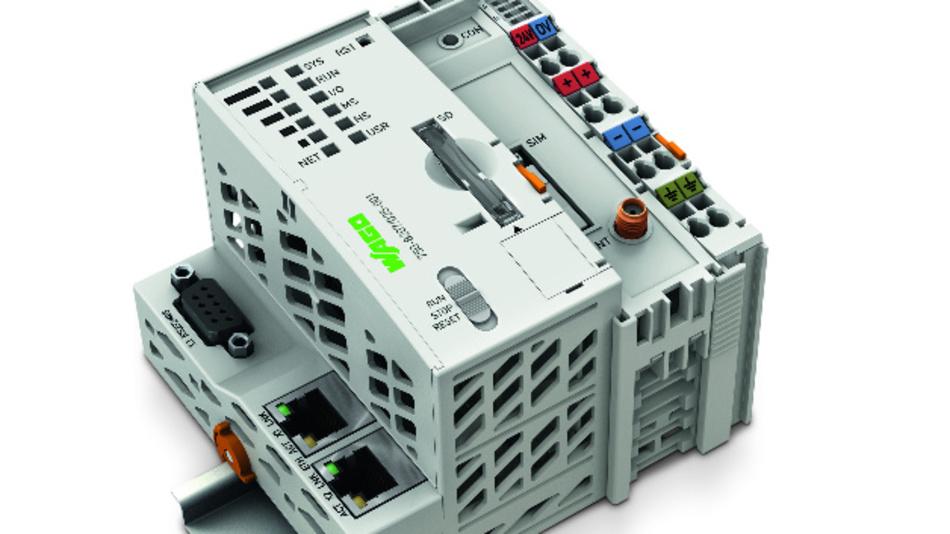 Vielseitig in IIoT-Anwendungen einsetzbar sind die Controller der Serie PFC200 von Wago.