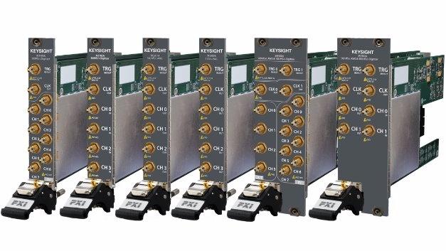 Neue Klasse von PXIe-Arbiträrsignalgeneratoren, -Digitizern und -Oszilloskopen für die Erzeugung und Analyse komplexer Basisband-IQ-Signale