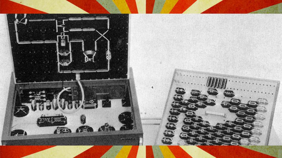 Elektronik-Lehrgerät von Philips