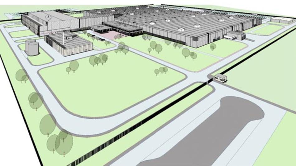 Daimler plant im Esipovo Industrial Park in der Nähe von Moskau das erste Mercedes-Benz-Pkw-Werk zu errichten.