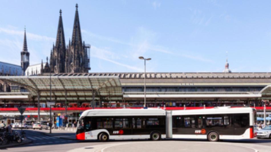 Die Batteriemodule kommen z.B. in E-Bussen der KVB in Köln zum Einsatz.