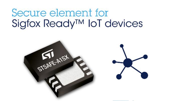 Das STSAFE-A1SX ist ein kleines und kostengünstiges IC, das über eine I²C-Schnittstelle mit dem Mikrocontroller der IoT-Applikation oder des IoT-Moduls kommuniziert.