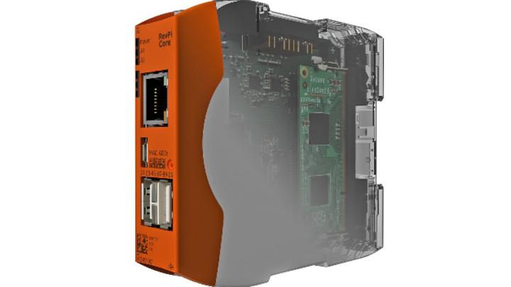 Offen und modular: Der Raspberry-Pi-basierte Industrie-PC RevPI erfüllt EN61131-3