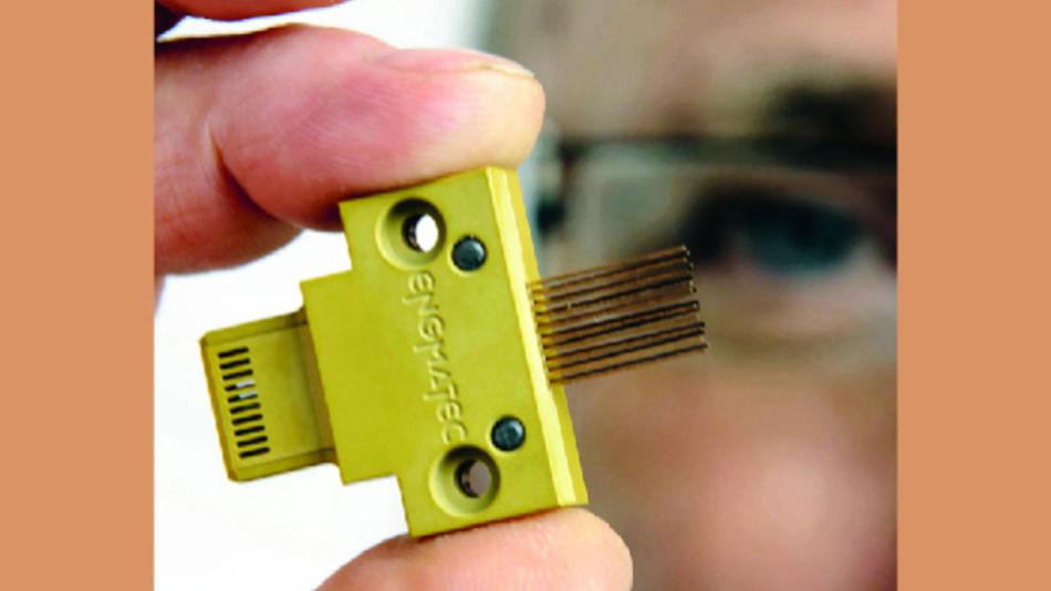 Bild 2. Zu den neuesten Entwicklungen gehören unter anderem Prüfstecker für Micro-USB.