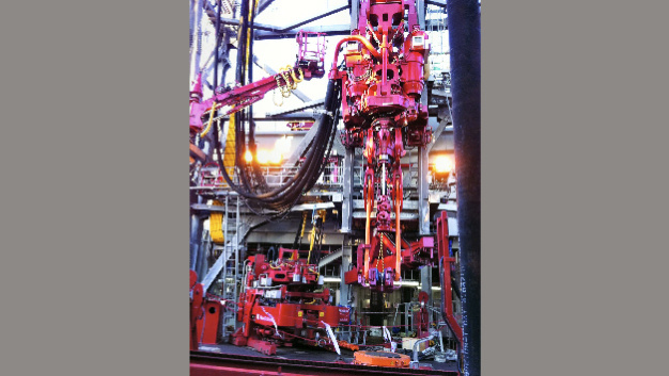 Bild 1. Auf Bohranlagen – wie hier von Aker Solutions – können antistatische Kabel Gefahren von zündfähigen Atmosphären verringern.