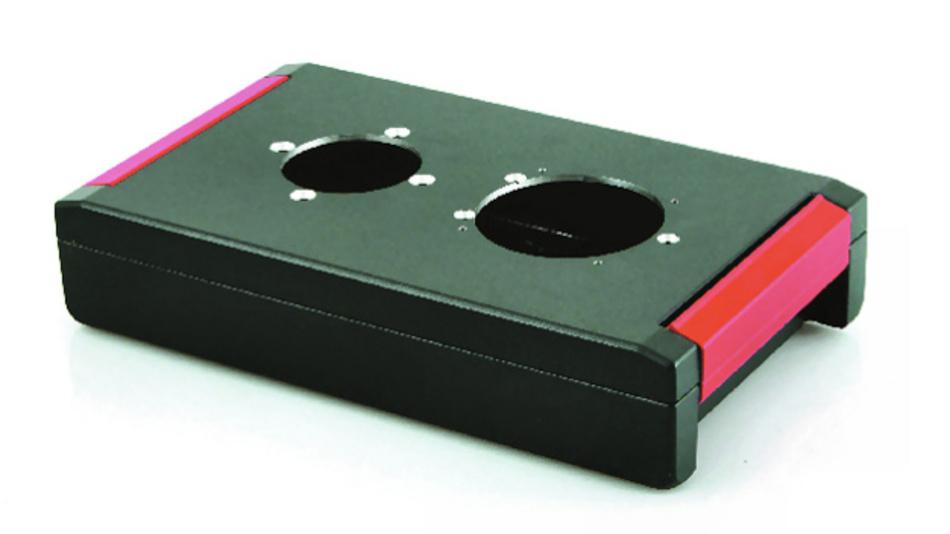 Bild 2. Die Gehäuseserie AluFormPlus hat der Hersteller mit einem besonders ansprechenden Design und ergonomischem Handling versehen.