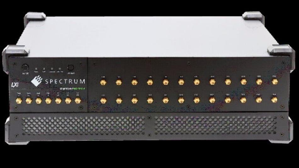 Acht neue Vielkanal-LXI-Digitizer von Spectrum