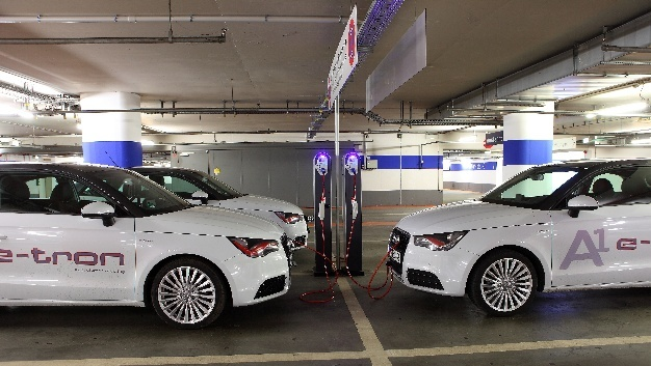 Ladepunkte für Elektrofahrzeuge