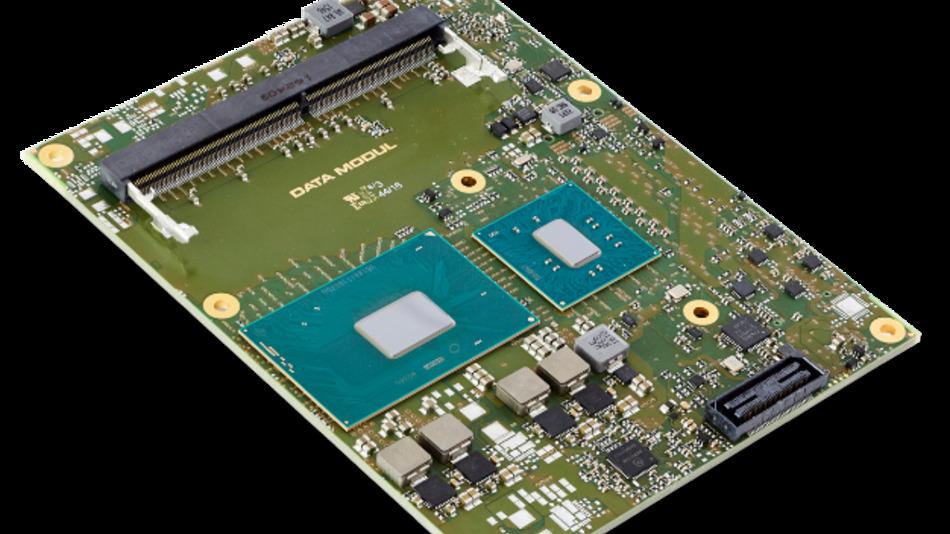"Data Moduls neues COM-Express-Type-6-Modul ""eDM-COMB-KL6""."