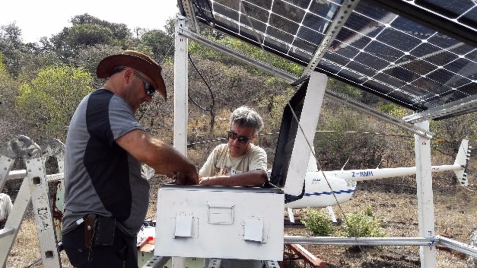 Die von Sigfox und dem Loweld Rhino Trust gemeinsam durchgeführten Arbeiten bestanden zunächst darin, die Infrastruktur des Sigfox-Netzes aufzubauen - dazu benötigten die Tierschützer nur vier Tage.