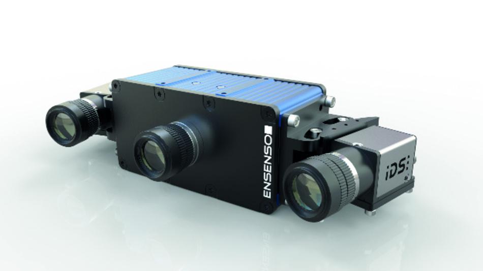 Über 100-W-Projektor und GigE-Anschluss verfügen die 3D-Kamerasysteme der Serie »Ensenso X«.
