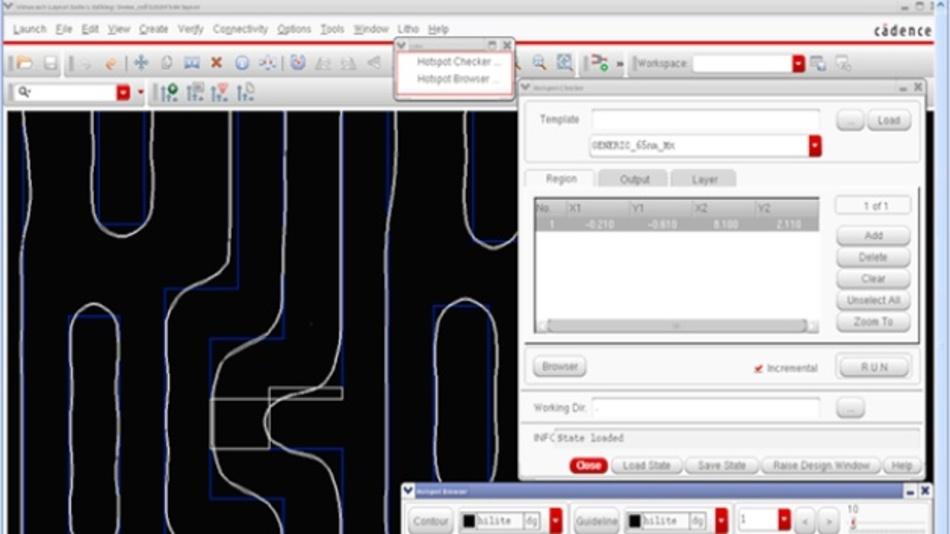 Bei Cadence LPA PLUS erfolgt  die Designverifikation bereits mit dem Schaltungsentwurf.