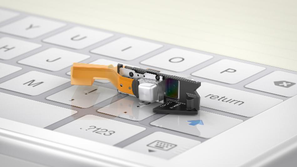 Der BML050 Laserscanner erzeugt Bilder im 16:9 Format bei einem Projektionsverhältnis von 1,87. Videos werden mit 720 p Auflösung wiedergegeben.
