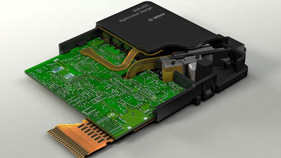Im Evaluations-Kit zum BML050 sind alle Systemkomponenten inklusive einer RGB-Laserlichtquelle enthalten.