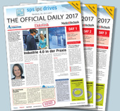 THE OFFICIAL DAILY 2017 zur SPS IPC Drives