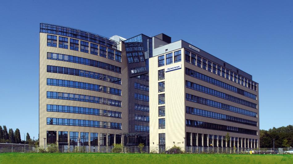 Der Sitz von Renesas Europa in Düsseldorf