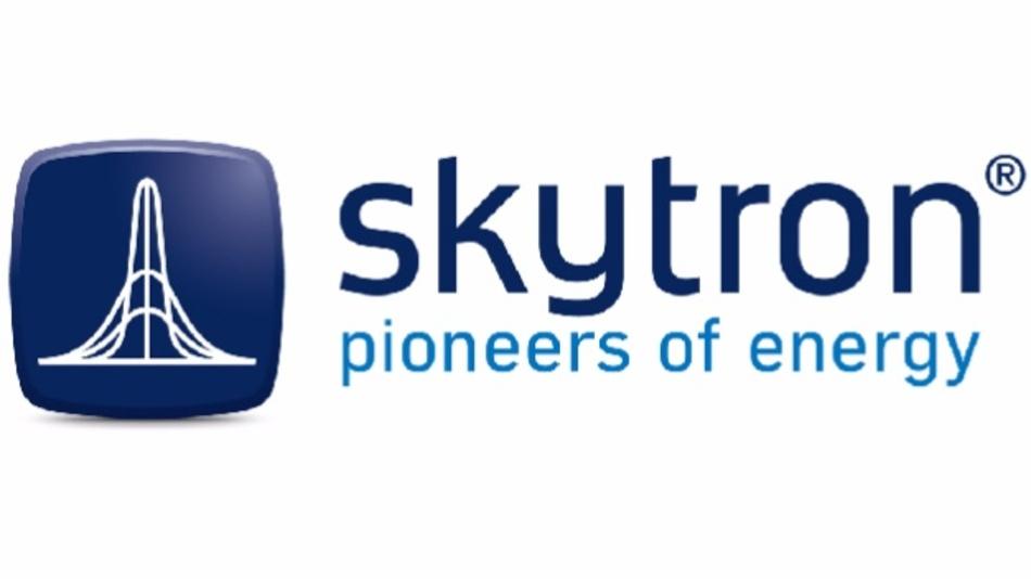 Logo des Photovoltaik-Unternehmens skytron energy