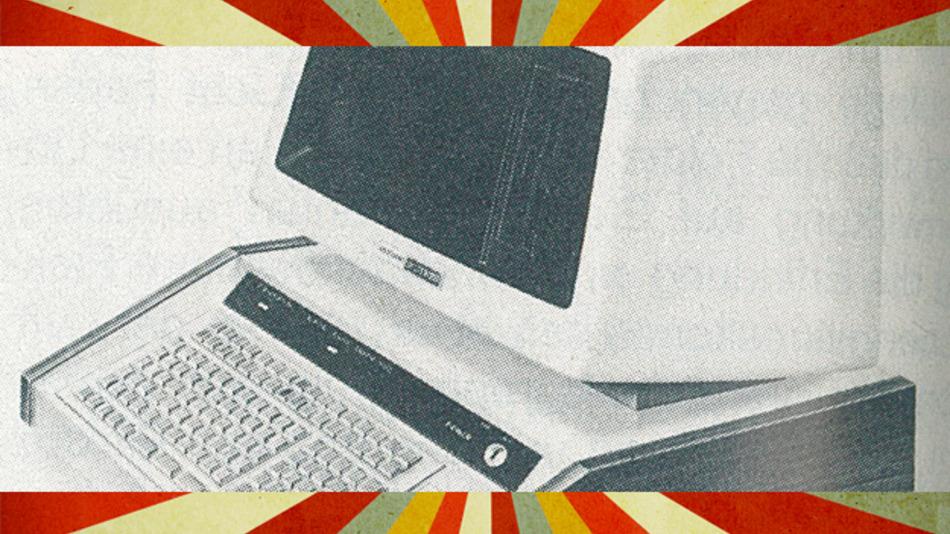 Auf dem Monitor des BASIC-Computers aus dem Jahr 1977 ließen sich 1920 Zeichen darstellen.