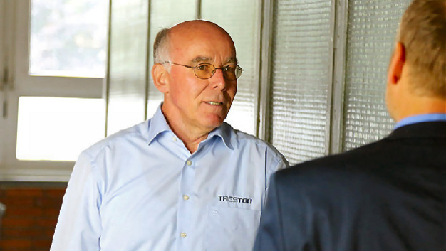 Ulrich Fröleke, Lean-Experte bei Treston
