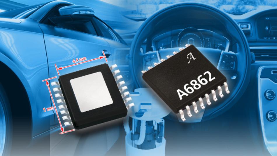 Der A6862 ist in Applikationen einsetzbar, die erhöhten Sicherheitsanforderungen entsprechen müssen.