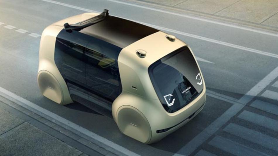 """Volkswagen hat mit """"Together – Strategie 2025"""" den größten Transformationsprozess seiner Geschichte auf den Weg gebracht. Ein Beispiel dafür ist Sedric, ein für autonomes Fahren des Levels 5 konzipierter Technologieträger."""