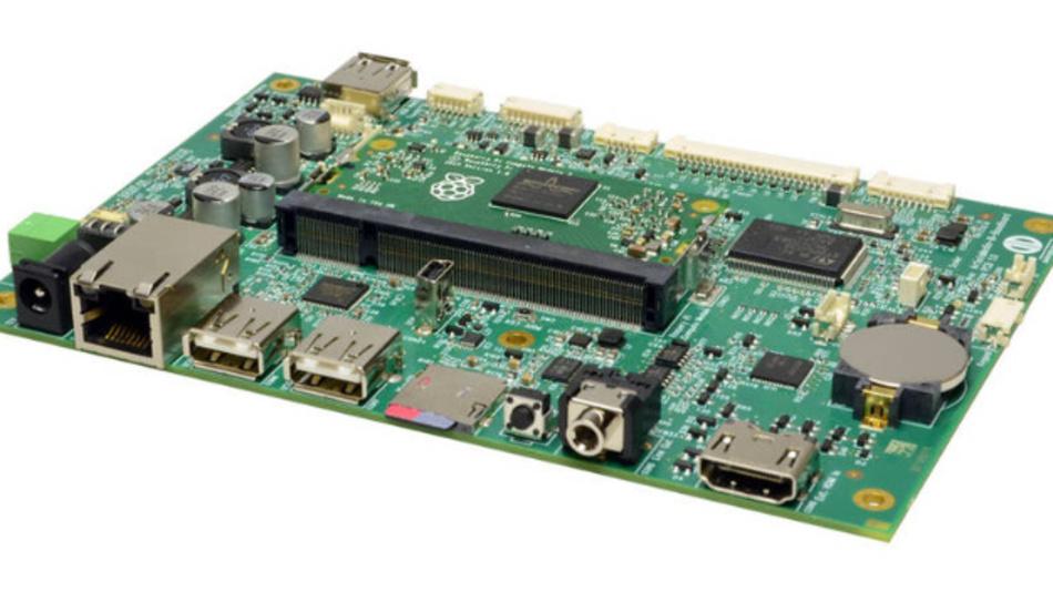 Artista-IoT mit integriertem Raspberry Pi Computer Module 3 (CM3).