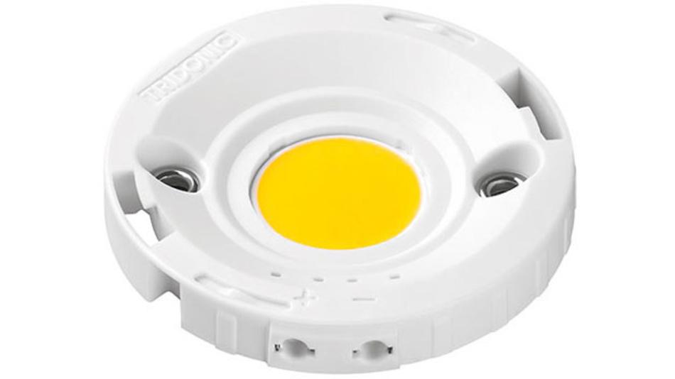 SLE Modul im Zhaga-konformen 50 mm Gehäuse und 17 mm Lichtaustrittsfläche.