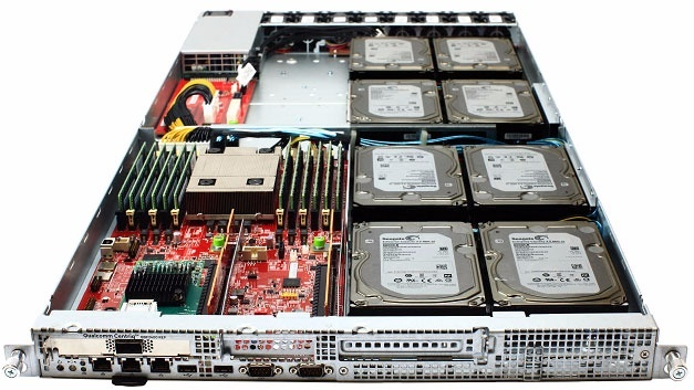 Server mit Qualcomm Centriq 2400 SoC.