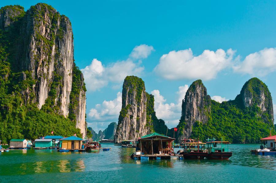 Mehr als nur Urlaub: Vietnam bildet 100.390 Ingenieure aus. Damit landet das asiatische Land knapp in den Top 10. Für den Eintritt in die besten zehn Nationen braucht es mehr als 100.000 ausgebildete Ingenieure.