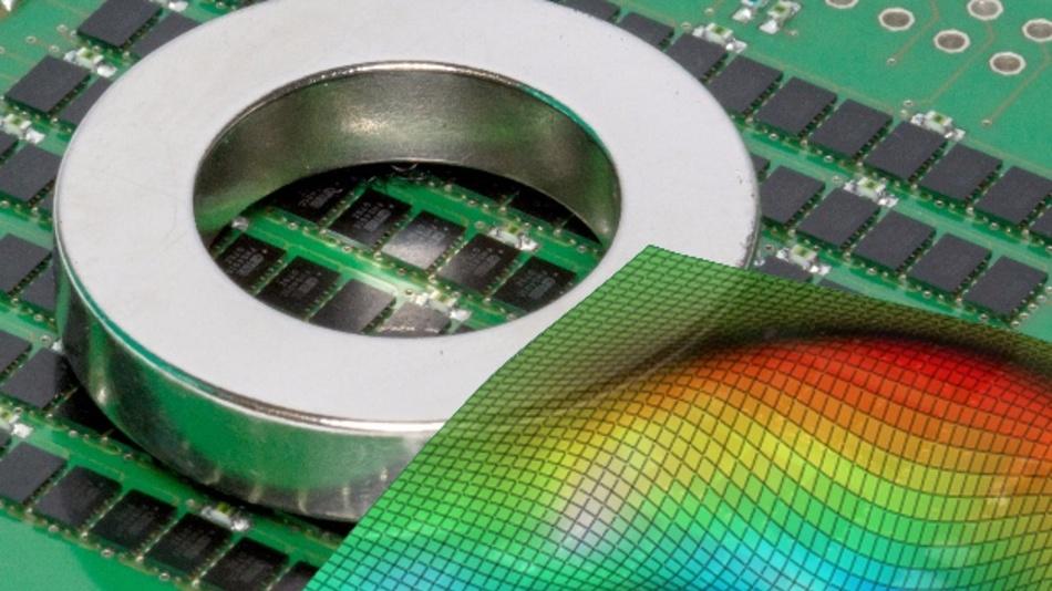 Nur eines der spannenden Exponate des Fraunhofer IIS: 3D-Kamera »HallinSight« zur großflächigen Vermessung von Magnetfeldern