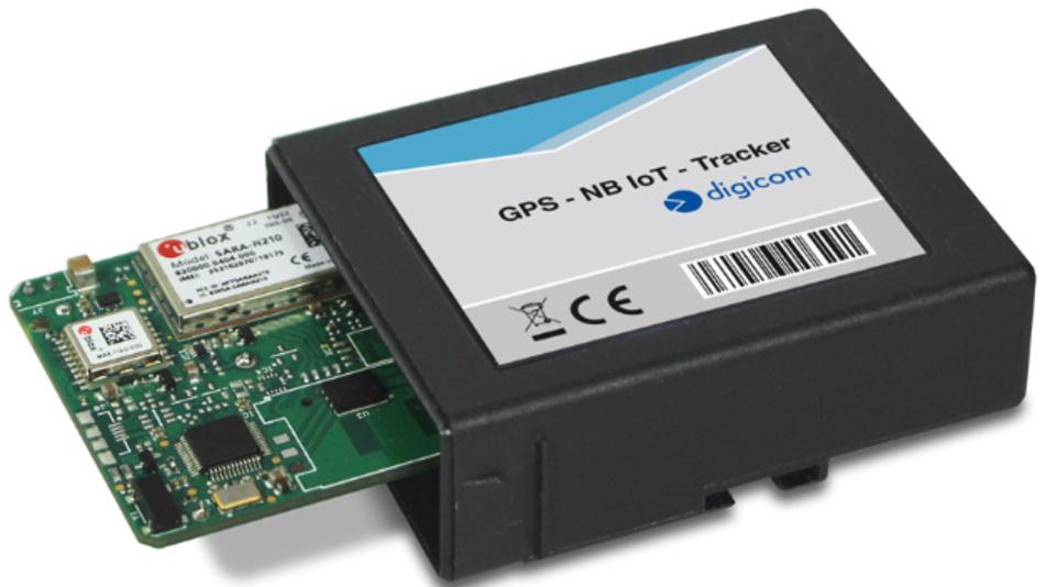 Der GPS-NB-IoT-Tracker von Digicom mit den Modulen von u-blox