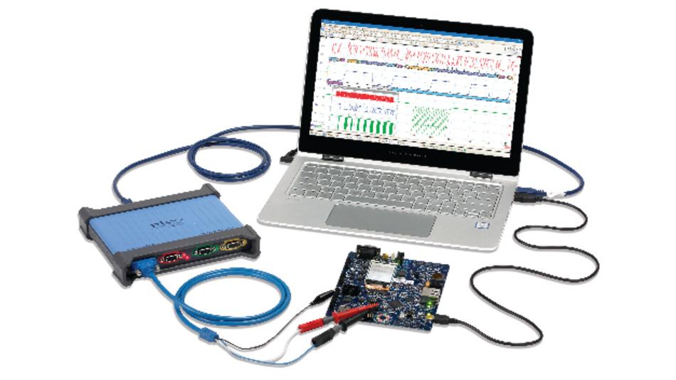Mit einem PicoScope 4444 können Messungen auf vier differentiellen Kanälen durchgeführt werden.