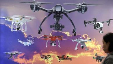 Drohnenpark CeBIT