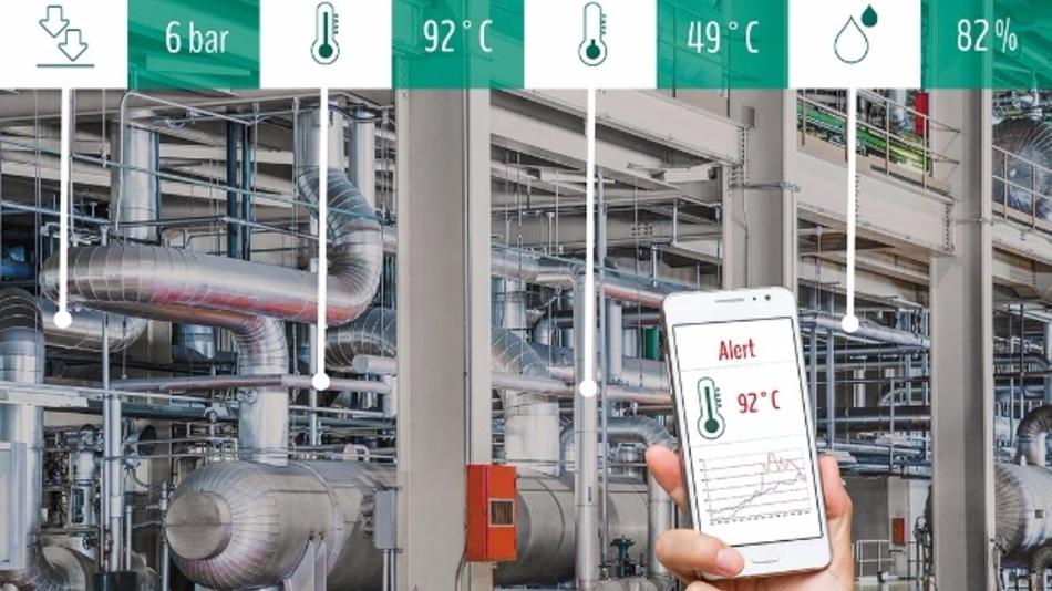 RFID-Sensorsystem / Fraunhofer IPMS