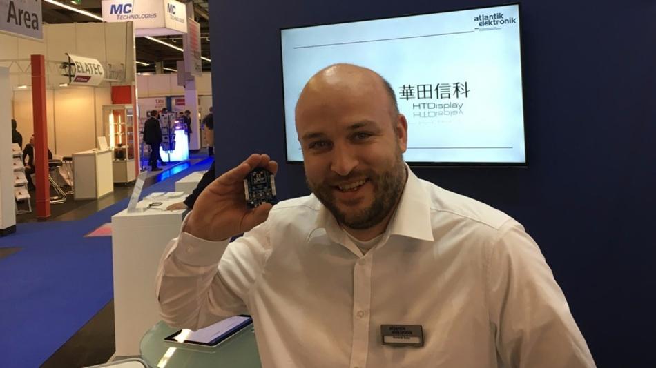Dominik Bohn, Atlantik Elektronik: »Ab kommenden Jahr werden die NB-IoT-ICs und Module in den Bereich von Millionen Stück kommen.«