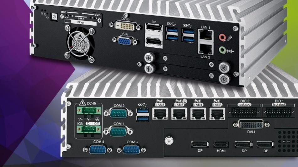 Embedded-Box-PC-Serie BP-ECS9700-GTX950/BP-ECS9600-GTX950 mit NVIDIA GEFORCE GTX 950 Grafik.