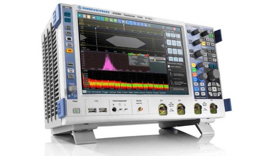 1000Base-T1 Compliance-Testlösung im R&S RTO Oszilloskop