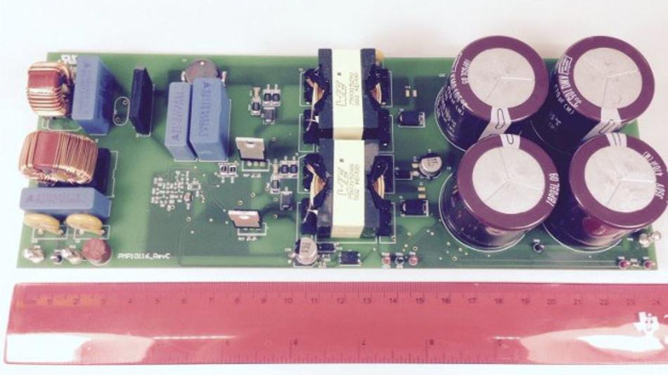 Referenzdesign für einen PFC-Sperrwandler als LED-Stromversorgung