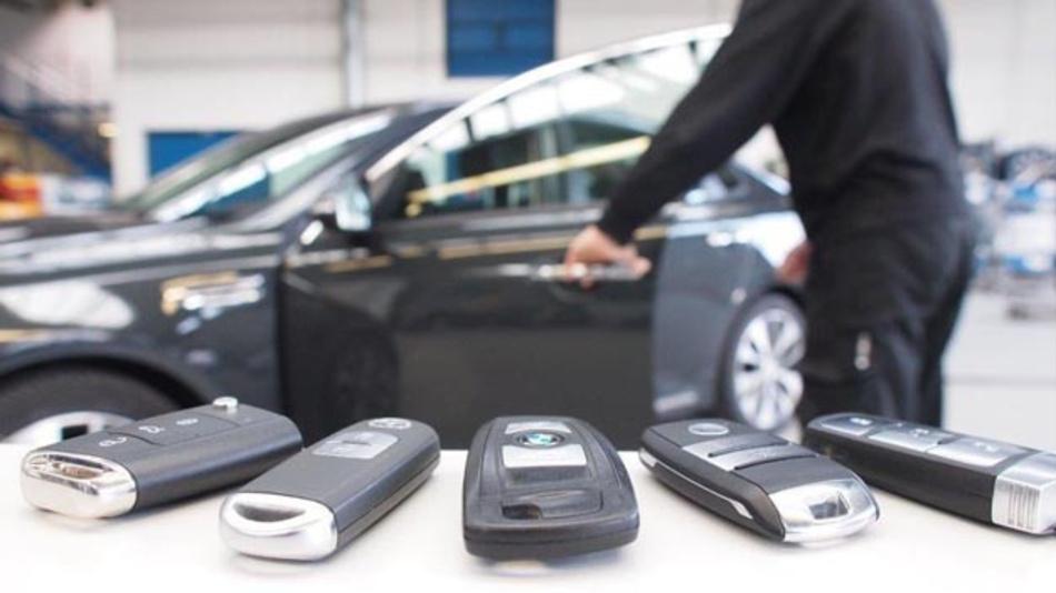 Fahrzeuge mit dem Komfort-Schließsystem Keyless sind erheblich leichter zu stehlen als Fahrzeuge mit normalem Funkschlüssel.