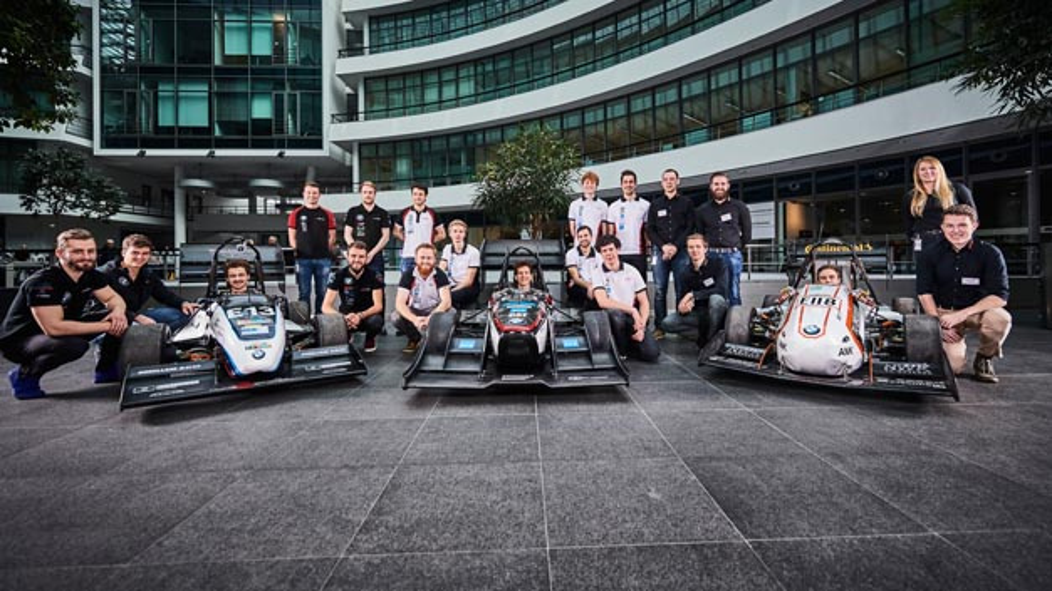 Seit der Gründung der Formula Student im Jahr 2006 ist BMW einer der Hauptsponsoren des Wettbewerbs
