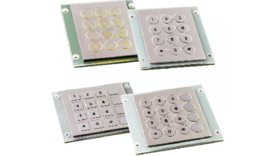 Edelstahl-Tastaturen der Serie V