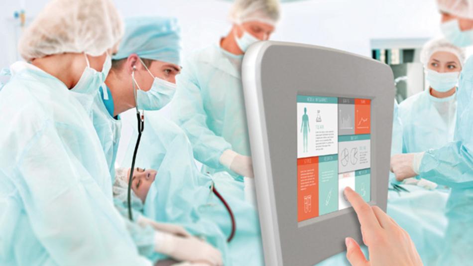 Neuartige Einstellmöglichkeiten bietet Data Moduls 3D Force Touch für Anwendungen in der Medizintechnik.