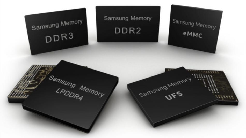 DRAM- und Flash-Speicher-ICs für die Automobilindustrie